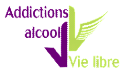 Logo addictions alcool vie libre